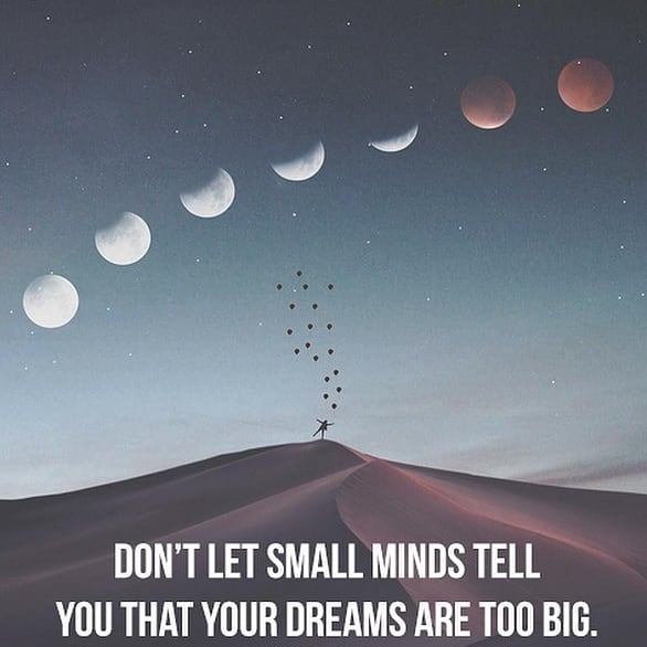 Dare to DREAM BIG! It's important to have a support system and positive affirmations when you're reaching for the stars. Don't lose get discouraged, create a custom to uplift and inspire you for years to come!
