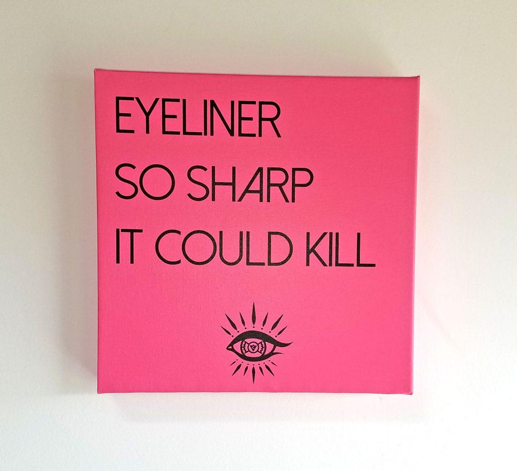 Killer Cat Eye Canvas