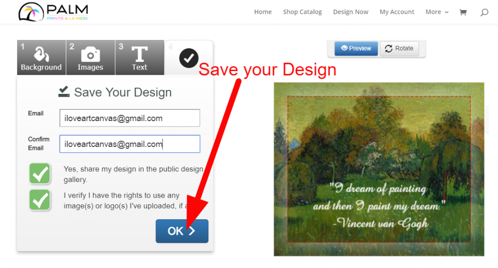 Save Your Design