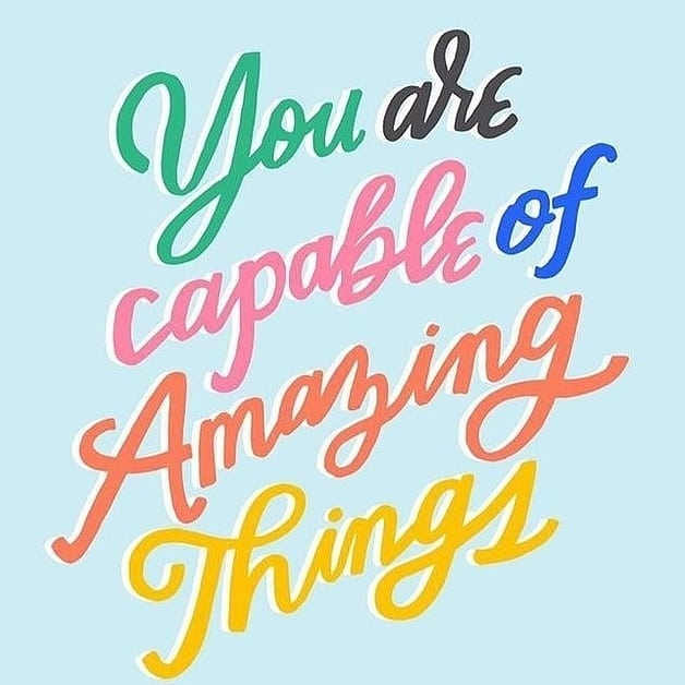 We all need a little reminder every once in a while so don't forget that you are capable of amazing things! Inspirational Quotes make great wall decor, design your inspo canvas print today & be inspired every time you see it