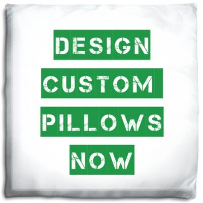 custom printed pillow - Prints A La Mode