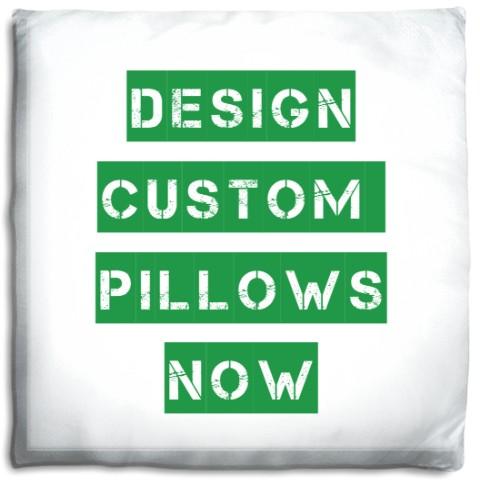 custom printed pillow - Prints A La Mode